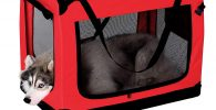 Bolsa de Transporte para Perros XXL 90x61x65 cm