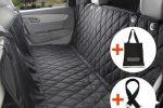 Cubierta de Asiento Impermeable Para el Coche con cinturon de seguridad y bolsa