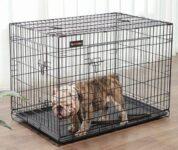 Jaula Metalica Plegable para perros 106 x 70 x 77 cm