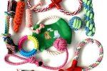 Pack 10 piezas de juguetes de cuerda para morder para bulldogs