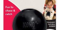 Kong bola extreme caucho para morder bulldog ingles