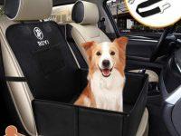 Refuerzo para Asiento del Coche con cinturon de seguridad para perro 59X49X46 cm