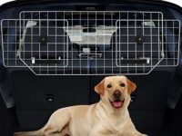 Rejilla Metalica para Transporte de Perros en Coche Ancho ajustable de 91cm a 156 cm