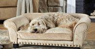 Sofa Cama para Perros 74x22x48