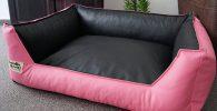Sofa cama de piel sintetica diferentes colores para bulldog ingles