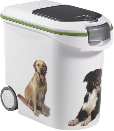 contenedor de comida para perros 12kg bulldog ingles