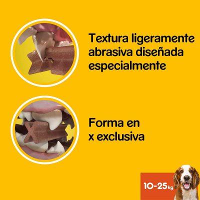 pedigree dentastick snack para perros bulldog ingles