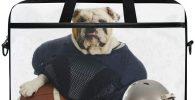 Bolsa para portatil 15 pulgadas con bulldog american football