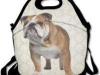 Bolso de almuerzo Bulldog Ingles Estuche portatil
