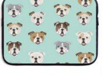 Bolso para portatil de 15 Pulgadas y tablet bulldog ingles