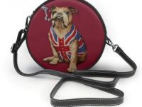 Bolsos redondos de mujer Bulldog inglés