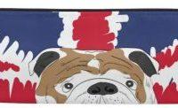 Estuche para lapices de bulldog ingles