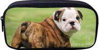 Monedero Estuche para cosmeticos cachorro bulldog ingles