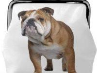 Monedero con Estampado de Bulldog ingles