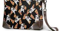 Monedero de Cuero Ligero para Mujer de Bulldog inglés