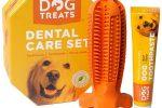 Cepillo de Dientes y Dentifrico Set para Perros,