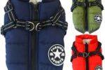 Abrigo para bulldog ingles chaqueta de invierno con arnes incluido ropa bulldog ingles