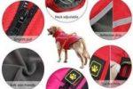 Abrigo para bulldog ingles impermeable con forro polar y reflectante para perros ropa bulldog ingles