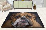 Alfombra bulldog ingles para dormitorio salon