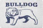 Alfombra de bano con imagen bulldog