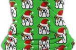 Bufanda de tubo english bulldog christmas