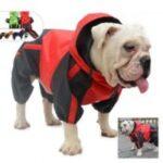 Chubasquero con capucha impermeable para bulldog ingles ropa bulldog ingles
