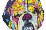 Sudadera bulldog ingles multicolor con capucha impresion a doble cara