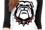 Camiseta bulldog ingles manga larga chica