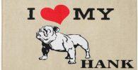 Felpudo bulldog ingles love