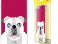 Funda Silicona para celular Xiaomi Redmi 8 con bulldog ingles