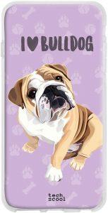 FUNDAS,CARCASAS Y SOPORTES PARA MÓVILES DE  BULLDOG INGLÉS Funda Silicona para smartphone Samsung Galaxy S20 Ultra con bulldog ingles