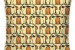 Funda de cojin de poliester mosaico bulldog ingles 55X55 cm