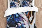 Juego funda nordica bulldog ingles multicolor