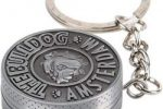 Llavero bulldog ingles con grinder Amsterdam