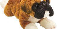 Perro de peluche bulldog ingles