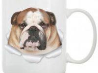 Taza ceramica de Bulldog Ingles Winston & Bear