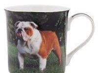Taza de Imagen de Perro Bulldog Ingles