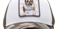 gorra bulldog ingles militar