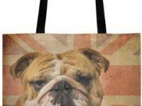 Bolsa de lona english bulldog para comprar