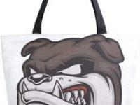 Bolsa reutilizable lona bulldog ingles para compra