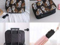 Bolsas de bulldogs para maleta viaje