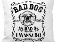 Cojin bulldog ingles bad boy