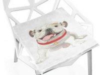 Cojin cachorro bulldog para silla