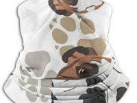Polaina bandana bulldog ingles para frio cuello