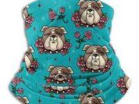 Bandana polaina bulldog ingles calentador de cuello