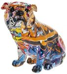 Figura bulldog ingles graffitti
