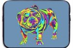 Funda de bulldog ingles para Apple MacBook Pro Notebook
