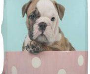 Maleta de bulldog ingles puppy equipaje para viajar