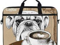 Maletin de bulldog ingles para ordenador portatil 15 pulgadas