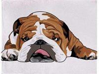 Manta De Bulldog Inglés Lana Suave 230X270Cm